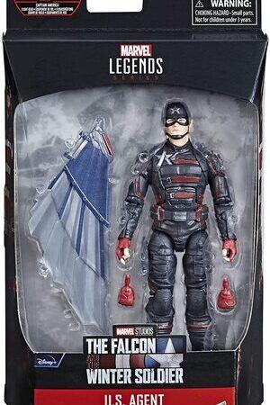 Figura Marvel Legends Falcon y El Soldado de Invierno U.S. Agent