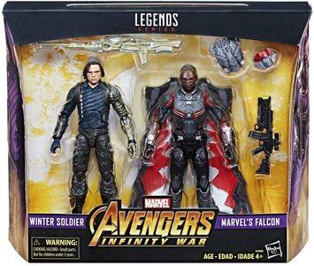 Figura Marvel Legends Infinity War Falcon y el Soldado de Invierno
