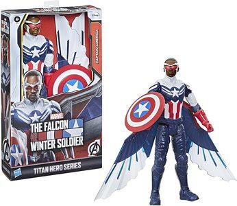Figura Titan Hero Series Sam Wilson Capitán América