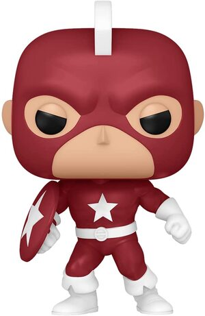 Funko Pop Especial Marvel Year of The Shield Red Guardian