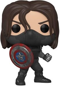 Funko Pop Especial Marvel Year of The Shield 838 Winter Soldier
