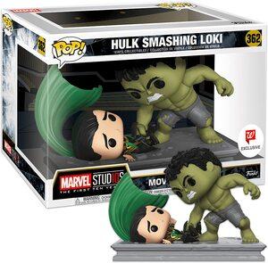 Funko Pop Especial Movie Moments Loki vs. Hulk
