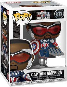 Funko Pop Falcon y el Soldado de Invierno Sam Wilson Capitán América Alas Nuevas