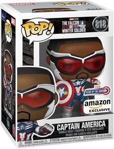 Funko Pop Falcon y el Soldado de Invierno Sam Wilson Capitán América Especial Amazon