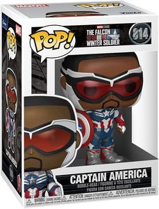 Funko Pop Falcon y el Soldado de Invierno Sam Wilson Capitán América