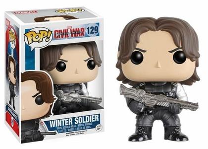Funko Pop Soldado de Invierno 129 Civil War Winter Soldier