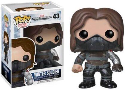 Funko Pop Soldado de Invierno 43 en Capitan América Winter Soldier 2