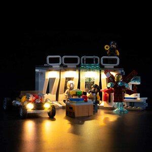 Lego Armería de Ironman. Kit de luces led compatibles