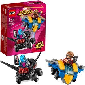 Lego Marvel Super Heroes con Star Lord y Nebula