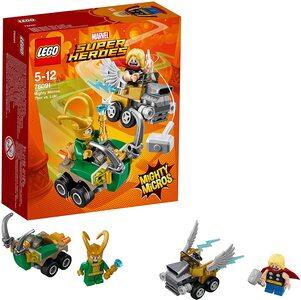 La Gran Tienda de Loki La Serie Lego Marvel Super Heroes con Thor y Loki