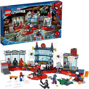 Lego Spider-Man Ataque a la guarida Arácnida con Spider-Man, Venom y Duende Verde