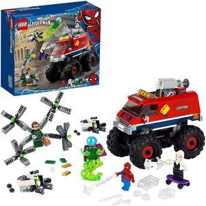 Lego Spider-Man Monster Truck Vs Mysterio con Spider-Man, el Doctor Octopus, Mysterio y Spider-Gwen