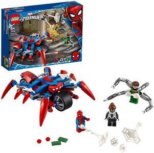 Lego Spider-Man moto Arácnida Vs Dr. Octopus con Spider-Man, Spider-Girl y Dr. Octopus