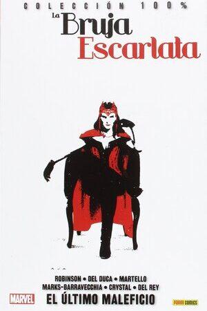 Libro La Bruja Escarlata 3. El Ultimo Maleficio. Coleccion 100 Marvel. 16 agosto 2017
