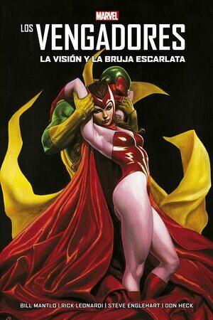 Libro Los Vengadores. Visión y La Bruja Escarlata Nueva Edicion. 22 abril 2021