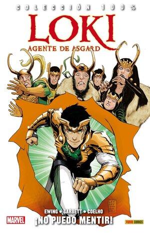 Libro Marvel Loki, agente de Asgard 2. No puedo Mentir