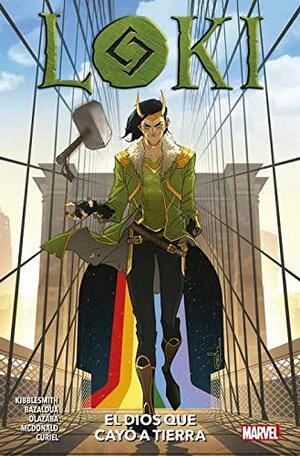 Libro Marvel Loki, el Dios que cayó a la Tierra