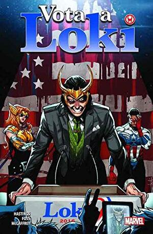Libro Marvel Loki. Vota a Loki