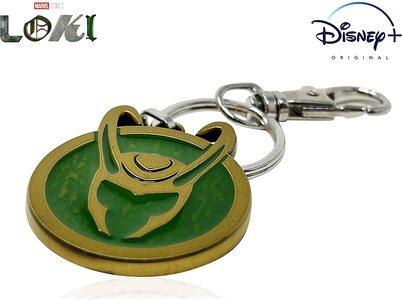La Gran Tienda de Loki La Serie Llavero Oficial de la serie Loki Casco Máscara