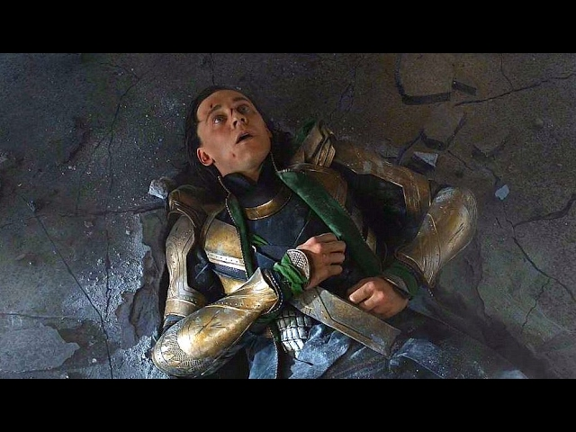 Momentazo de Loki Vs Hulk en Los Vengadores