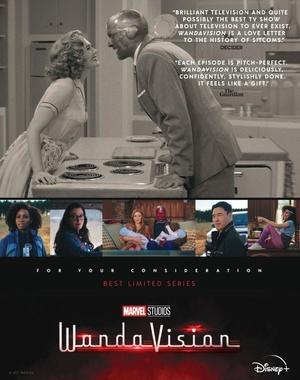 Poster Wandavision Candidatura a Premios Emmy
