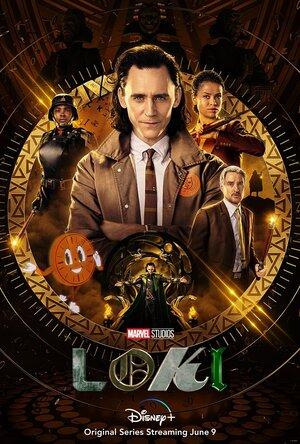 Poster Original de la Serie Loki. La Gran Tienda de Loki La Serie