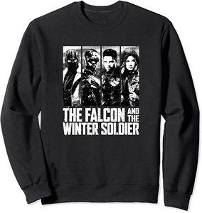 Sudadera Falcon y el Soldado de Invierno Foto Protagonistas