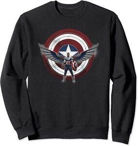 Sudadera Falcon y el Soldado de Invierno Sam Wilson Nuevo Capitan America con escudo