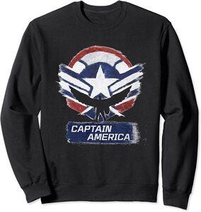 Sudadera Falcon y el Soldado de Invierno el Nuevo Capitan América Efecto Tiza
