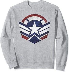 Sudadera Falcon y el Soldado de Invierno el Nuevo Logo del Capitan América Escudo