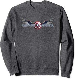 Sudadera Falcon y el Soldado de Invierno el Nuevo Logo del Capitan América con alas