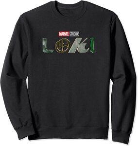 Sudadera Marvel Loki Logo oficial de la Serie Loki Colores
