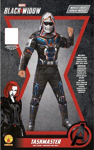 Adulto Disfraz de Taskmaster en Black Widow