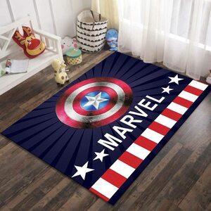 Alfombra Marvel Escudo Capitan America