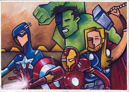 El Gran Sitio de loArticulos para el cole de Los Vengadores de Marvel Vengadores de Marvel.