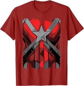 Camiseta Black Widow Traje Disfraz Red Guardian