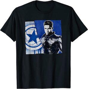 Camiseta Falcon y el Soldado de Invierno Bandera Bucky Barnes