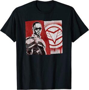 Camiseta Falcon y el Soldado de Invierno Bandera Falcon