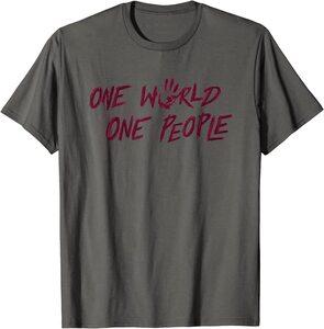 Camiseta Falcon y el Soldado de Invierno Los Sin Banderas One World, One People