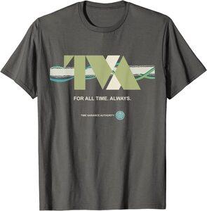 Camiseta Loki Agencia de Variacion del Tiempo TVA Linea Temporal Por toda la Eternidad, Siempre