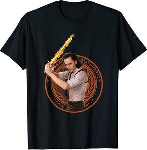 Camiseta Loki Glorioso Espada Fuego