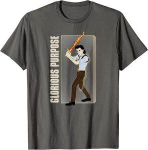 Camiseta Loki Glorioso Proposito Espada Fuego