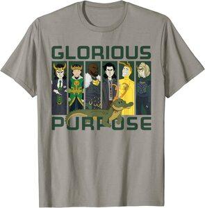 Camiseta Loki Variantes Glorioso Propósito