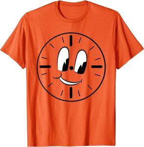 Camiseta Loki Miss Minutes Reloj Naranja