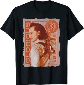 Camiseta Loki Throg Gloriosa Daga Dorada For All Time Always