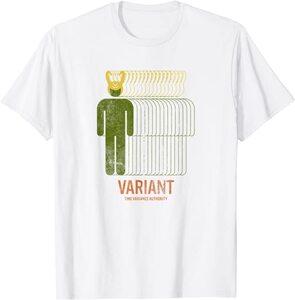 Camiseta Loki Variante Agencia de Variacion del Tiempo