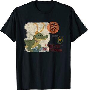 Camiseta Loki Variante Cocodrilo Cartoon Caiman Loki Alligator Loki VAriante