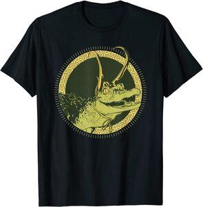 Camiseta Loki Variante Cocodrilo