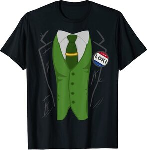 Camiseta Loki Variante Presidente Disfraz