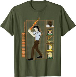 Camiseta Loki Variantes Identificadas